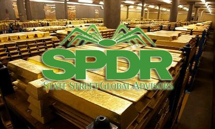 Phân Tích GOLD theo giao dịch của quỹ SPDR